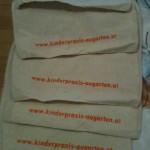 Kinder-Stofftaschen als Give-Away auf der BabyExpo 2012
